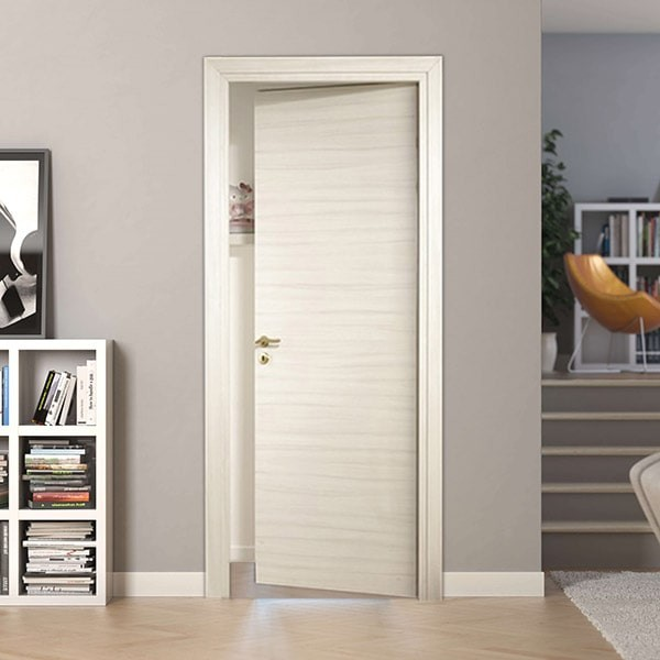 Laminate door Palissandro White
