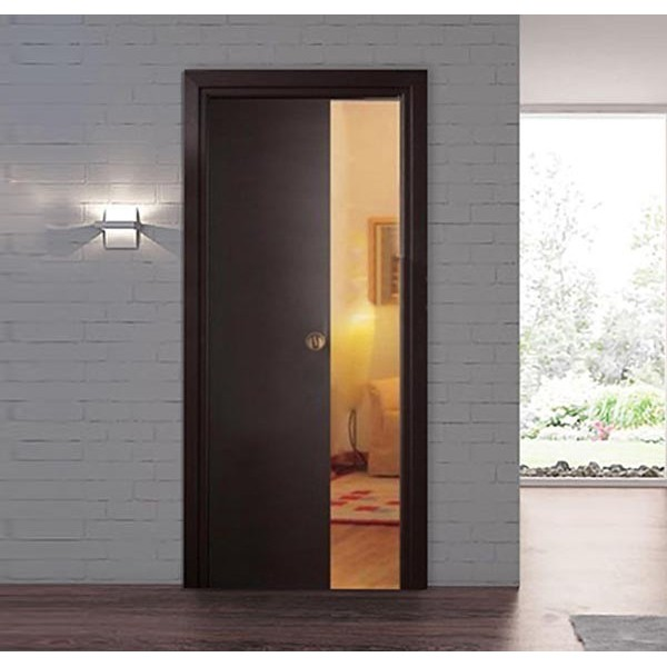 Wenge Retractable Sliding Door with small handle