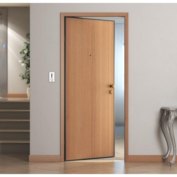 Porta blindata liscia fonoisolante 33 db con sensore magnetico Porte Interne