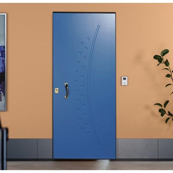 Porta blindata insonorizzata pantografata Porte Interne