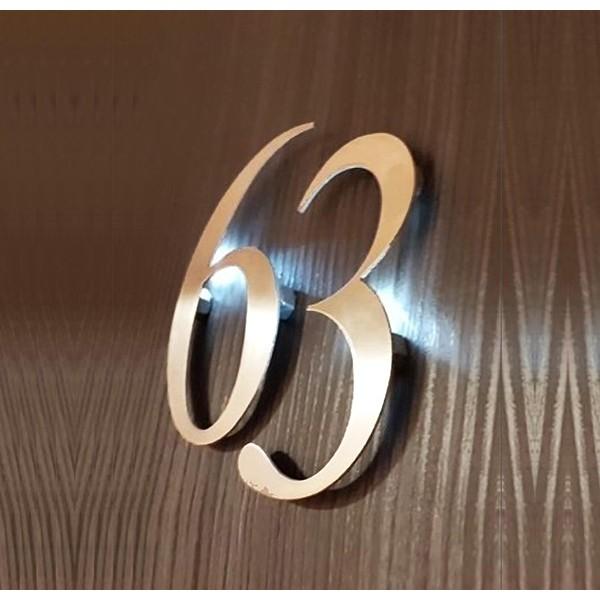 Numeri LED per camere di Hotel - B&b Porte Interne