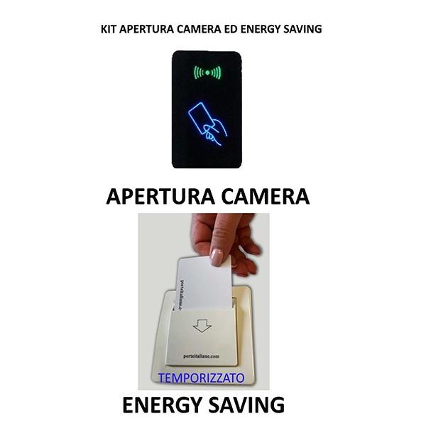 Kit Controllo Accessi e Risparmio energetico