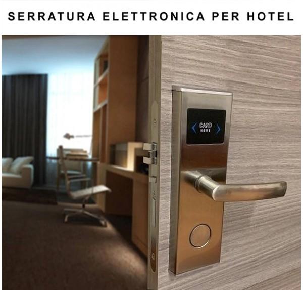 Serratura elettronica per hotel Porte albergo