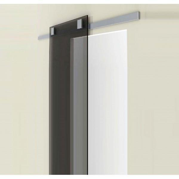 Binario Divina Scorrevole alluminio portata kg. 80 Porte Interne
