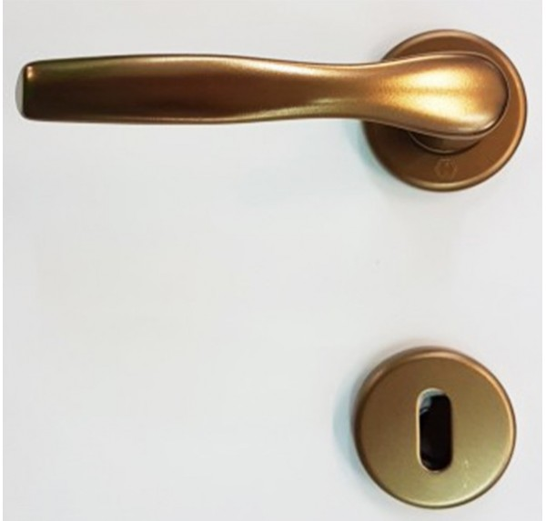 Maniglia Alluminio Bronzata (Art.160A) Porte Interne