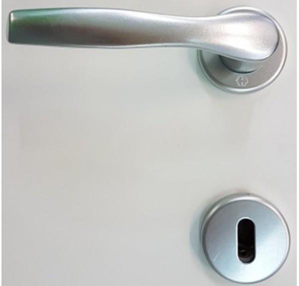 Maniglia Alluminio Argentata (Art.160) Porte Interne