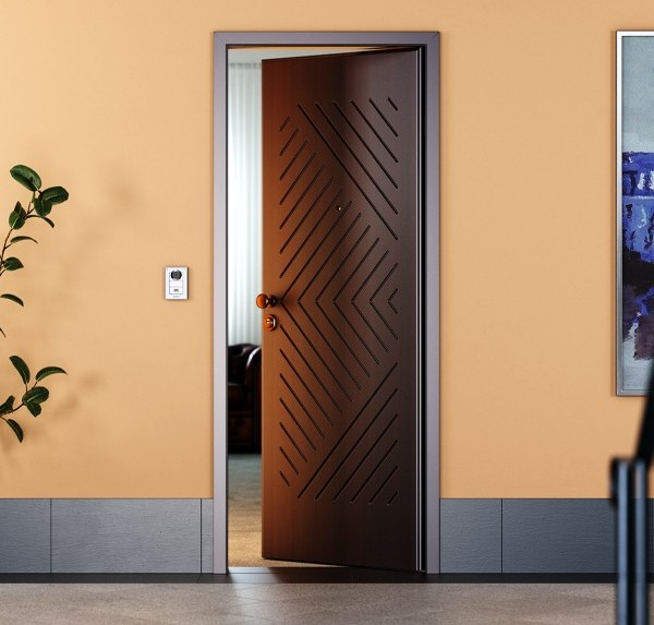 Pantograph Wenge Armoured Entrance Front Door