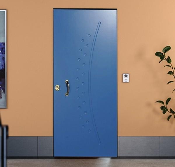 Pantograph soundproof armored door