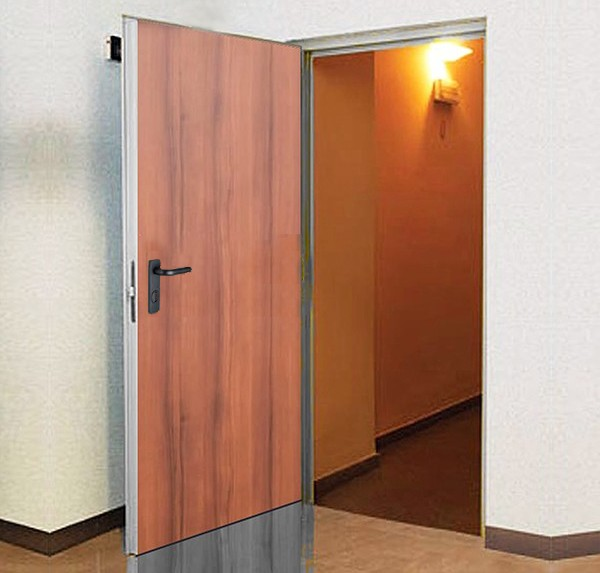 REI 120 fire doors covered - 1 PANEL