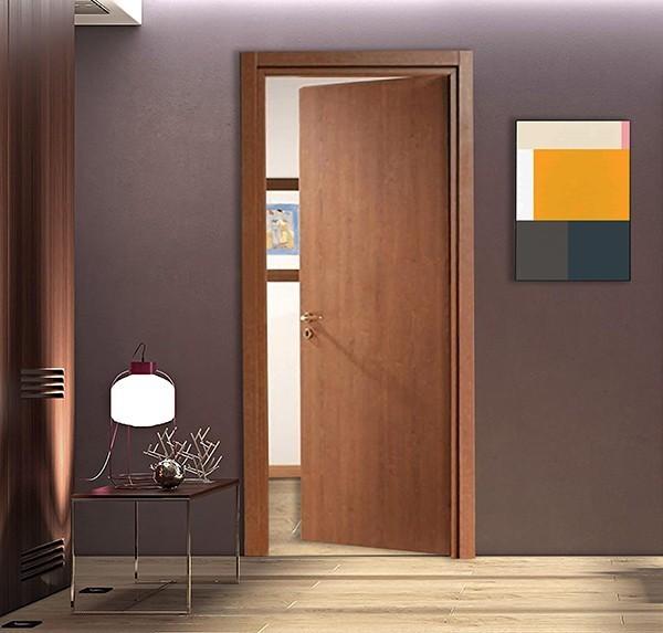 Interior laminate door Cherry color
