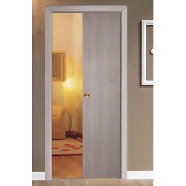 moda selezione premium per tutta la famiglia Porta Scorrevole Scomparsa Larice con serratura | porteitaliane.com