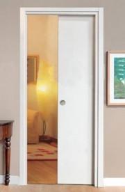 Porta Scorrevole Scomparsa Bianca con maniglietta Porte Interne