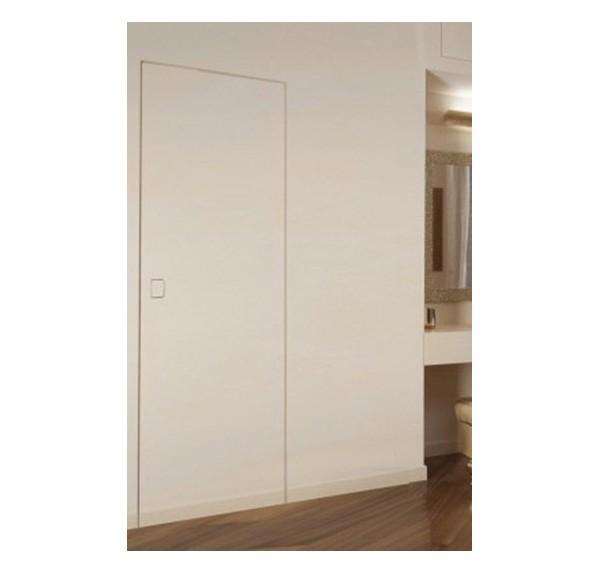 Porta rasomuro scrigno filo muro porta linvisibile rasoparete prezzi - Porta a filo muro prezzi ...