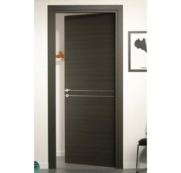 Porta Laminato Inserti Alluminio Centrali | porteitaliane.com