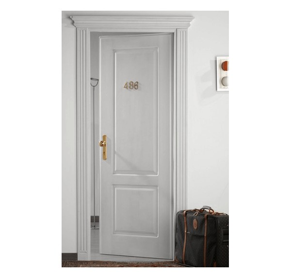 EI 45 Hotel Door Antique Wood Empire Kit