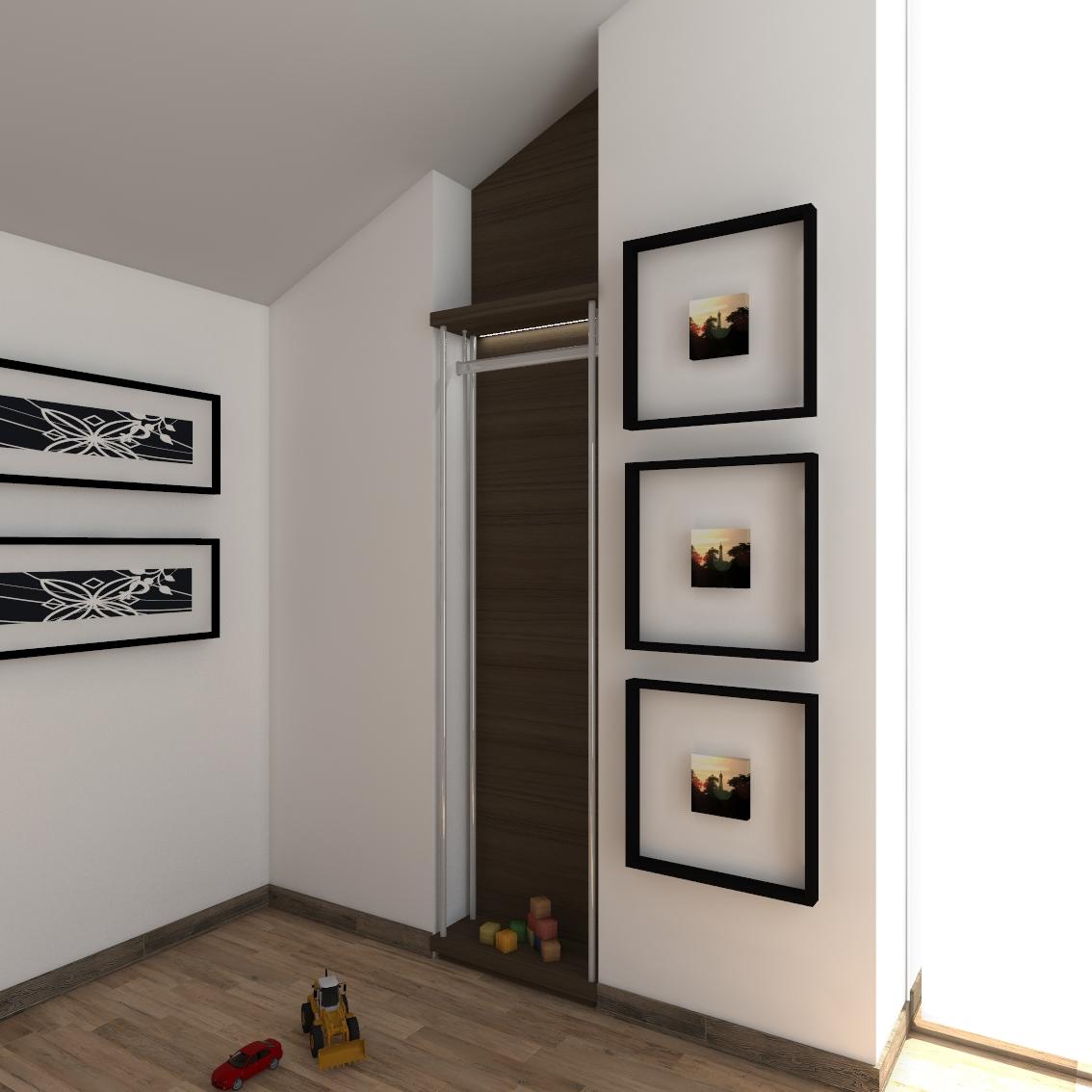 walk-in closet module