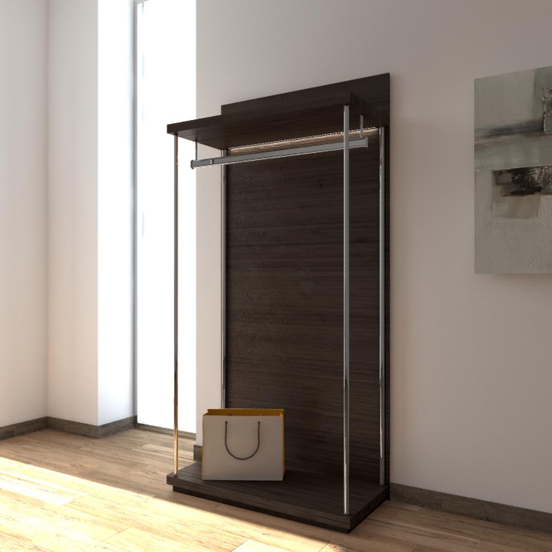 external walk-in closet module