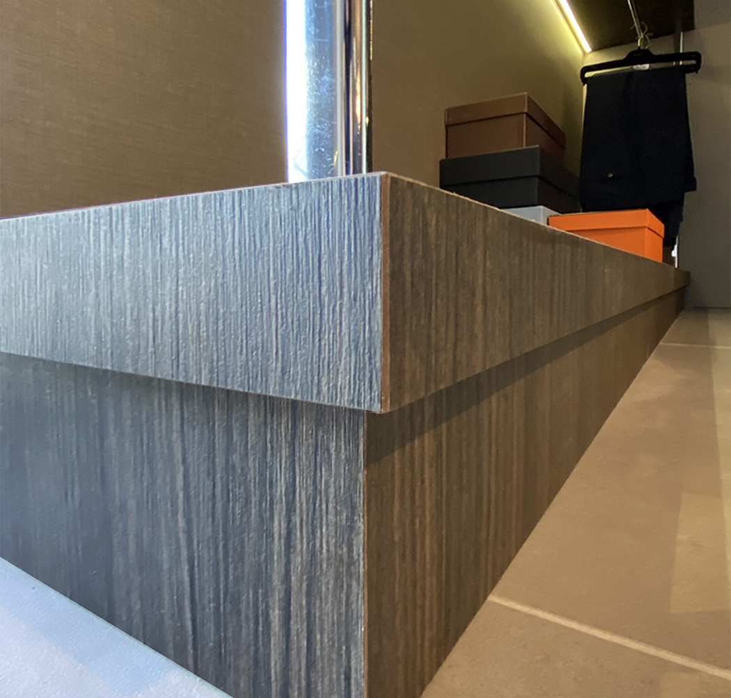 lower shelf for walk-in closet