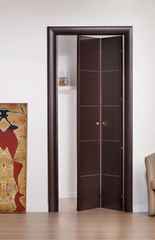 Porta A Libro Asimmetrica porte a libro una soluzione per ridurre ingombri delle porte