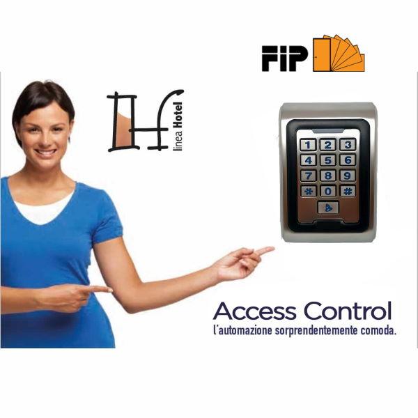 Access control per domotica hotel