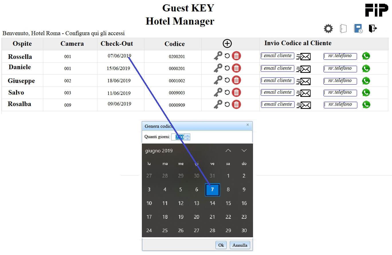 programmazione tastiera keyless