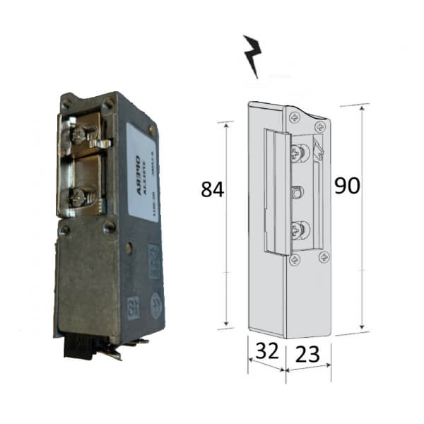 electric strike for armored door