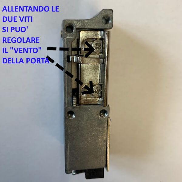 Bocchetta elettrica per apertura portone blindato