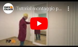 Video tutorial installazione porta scorrevole esterna