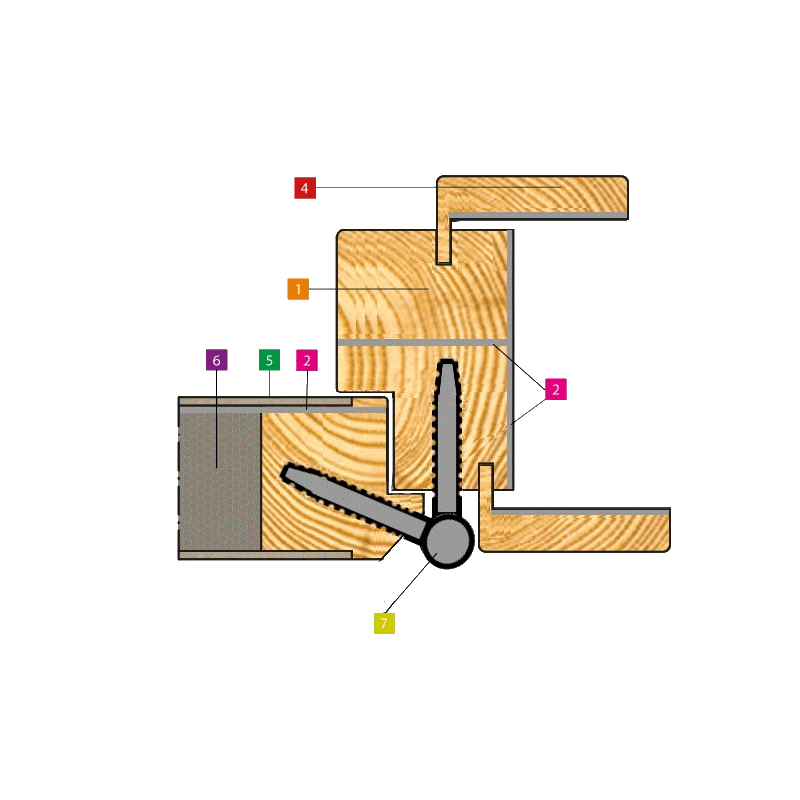 lead section frame