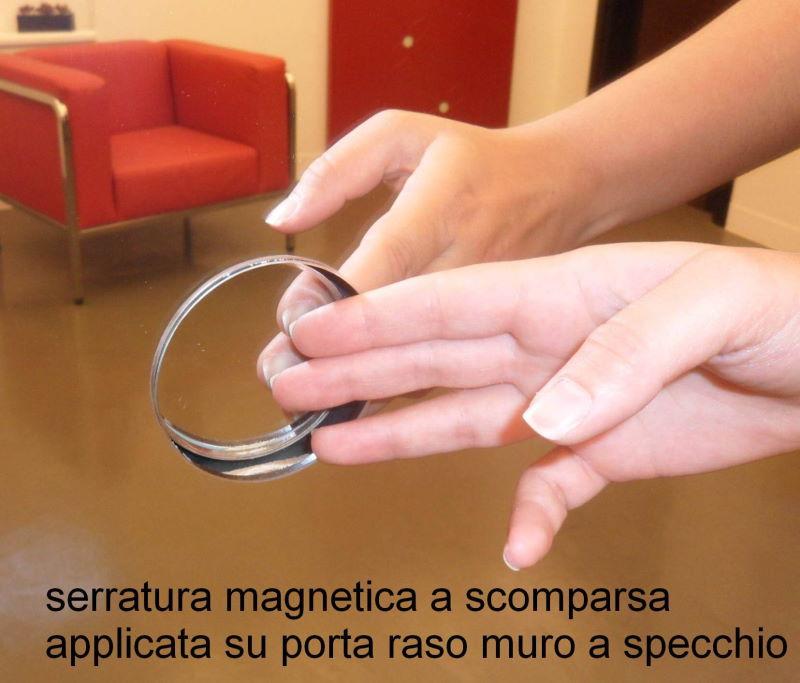 porte invisibili con serratura invisibile