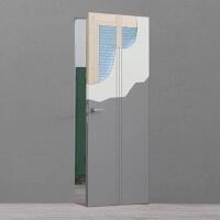 porta rasomuro con fonoisolante