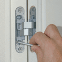 invisible doors with concealed hinges