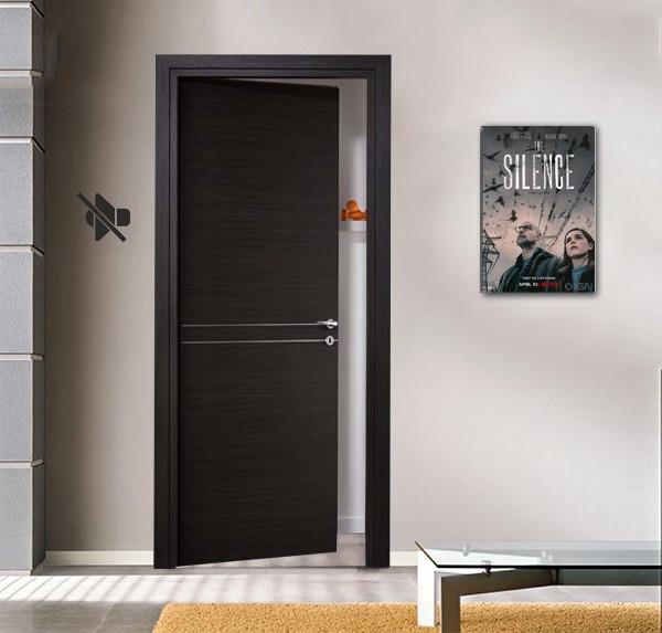 50 decibel soundproof doors