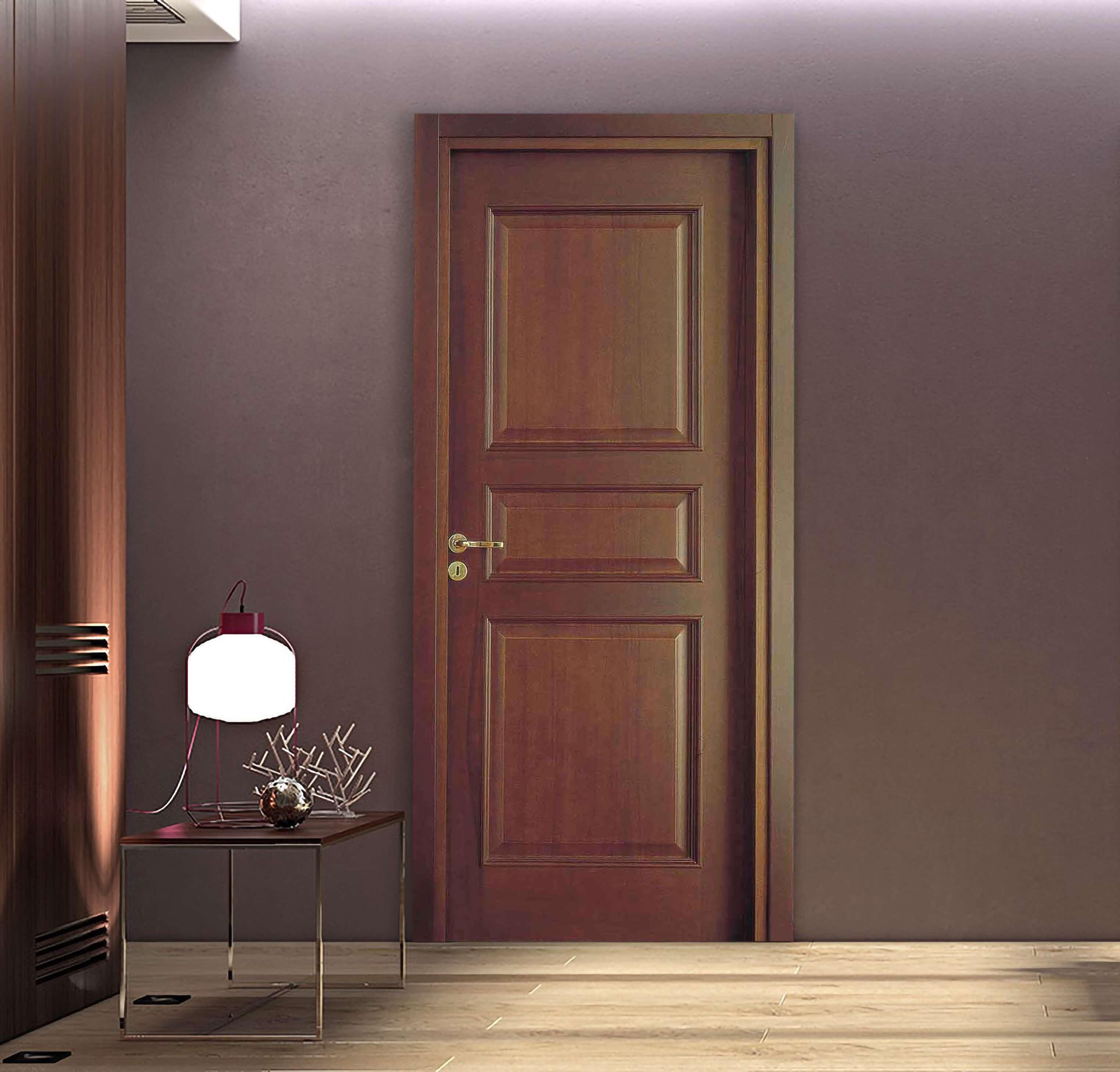 Porte interne a battenti classiche for Quanto costano le porte interne