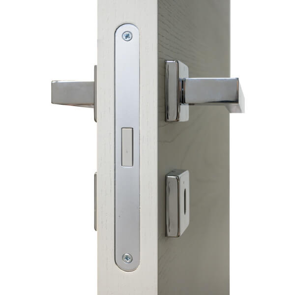 internal doors with magnetic lock