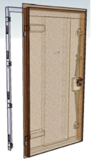 componenti porte blindate