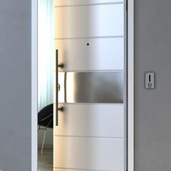 portoncino blindato moderno modello Roma