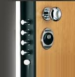 armored door lock European cylinder