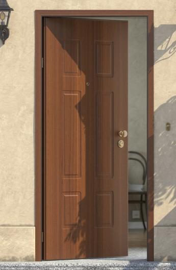 Porte blindate con telaio a taglio termico insonorizzate