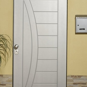pantographed armored doors in Ral colors