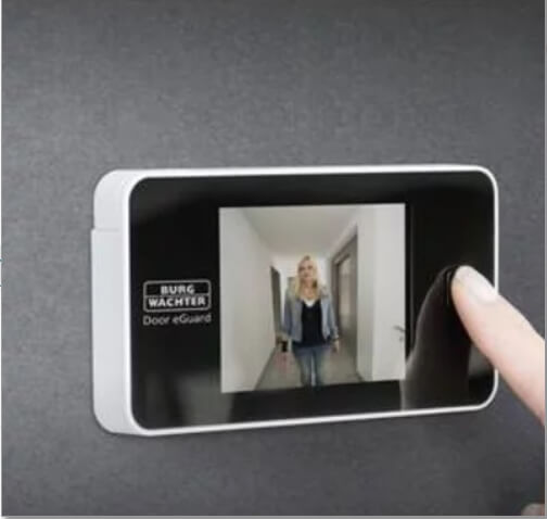 spioncino digitale porte blindate