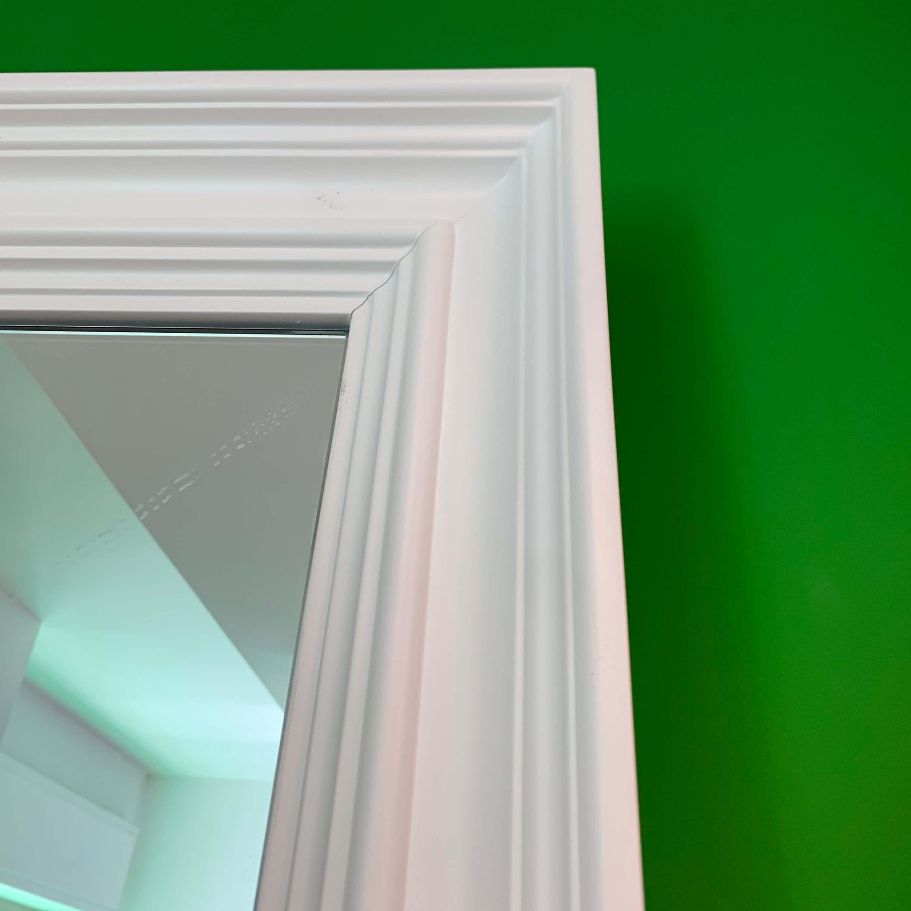 external sliding door with mirror