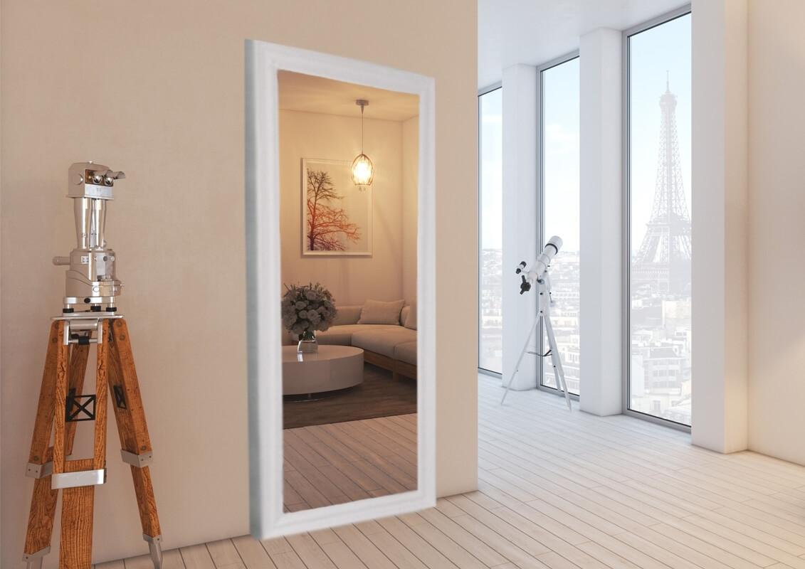 Details zu Porte scorrevoli esterno muro con specchio binario invisibile