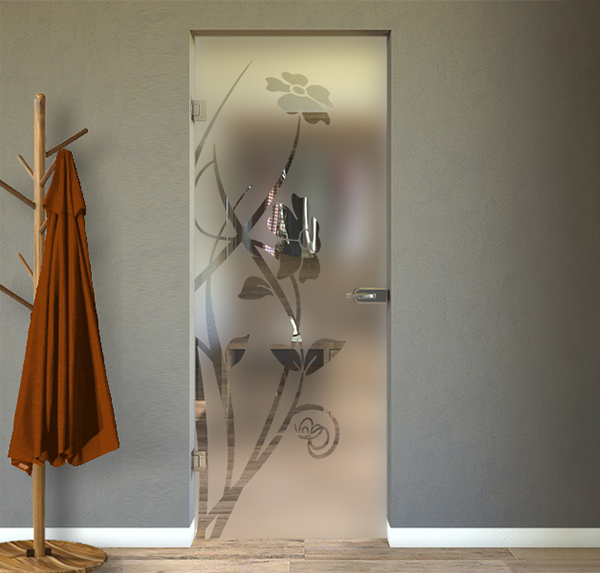 glass swing door assembly instructions