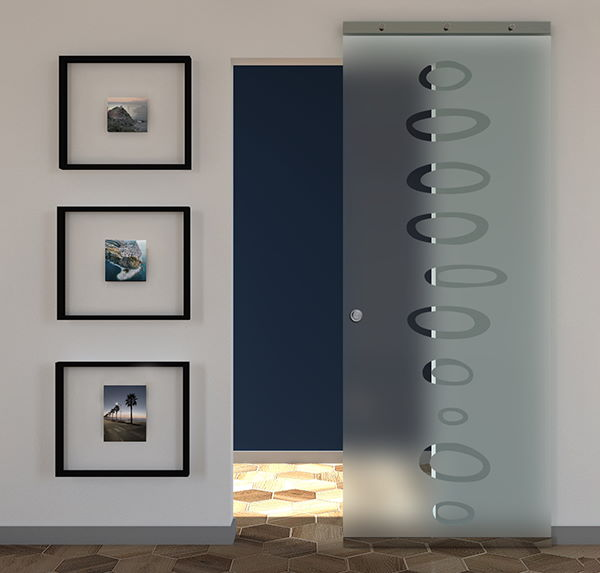 sliding glass doors frosted glass