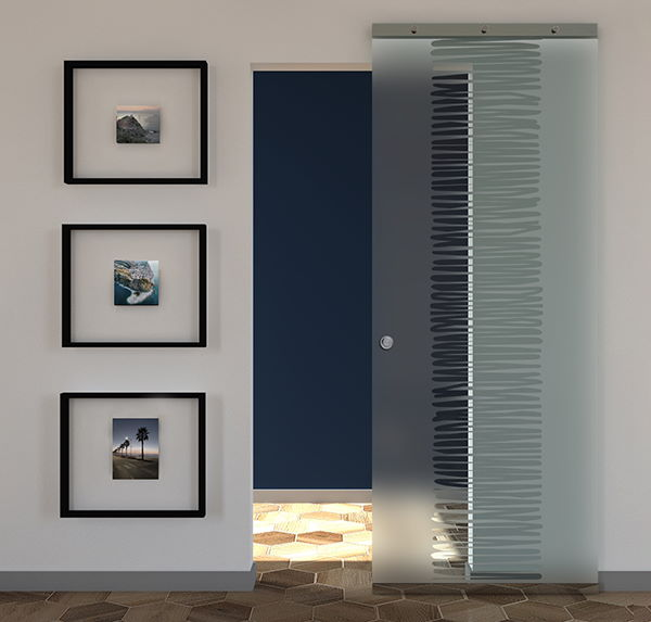 sliding doors prices frosted glass with drawings