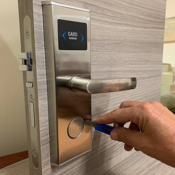 electronic lock for hotels